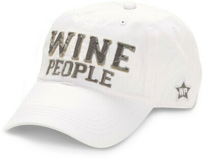 WP- Wine People Hats - White