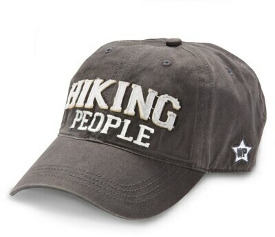 WP -  Hiking People Adjustable Hat - Dark Grey