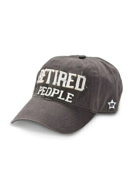 WP - Retired Adjustable Hat - Dark Grey
