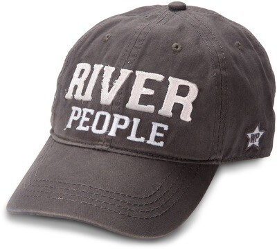 WP - River People Hat Dark Grey