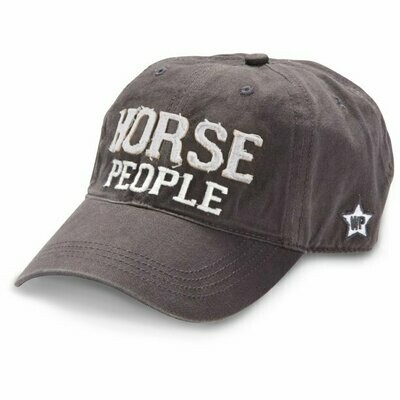WP - Horse People - Grey Adjustable Hat