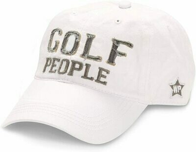 WP - Golf People Hat - White