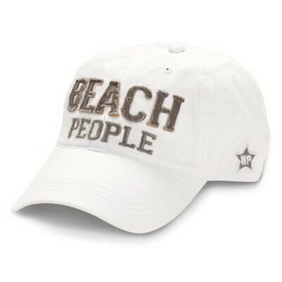 WP - Beach People Hat - White
