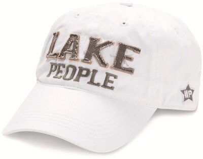 WP - Lake People Adjustable Hat - White