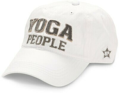WP - Yoga People Hat - White