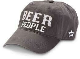 WP - Beer People Hat  Dark Grey