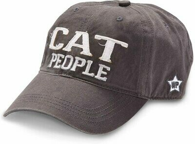 WP Cat Adjustable Hat Grey