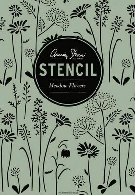 Stencil A3 Design Meadow Flowers - Annie Sloan