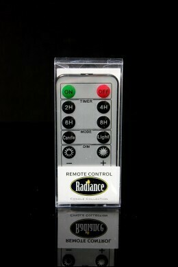 Radiance 10 Button Remote Candle - The Light Garden