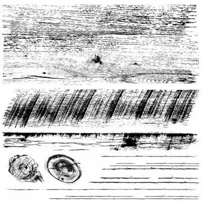 Barnwood Planks 12X12 Decor Stamp - Iron Orchid Design