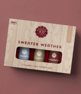 Sweater Weather Essential Oil Collection - Woolzies