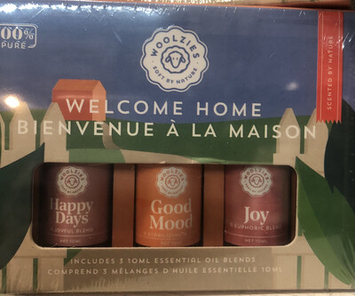 The Welcome Home Essential Oil Collection - Woolzies