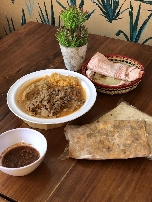BISTEC A LA MEXICANA ( Medio kilo ó Kilo )