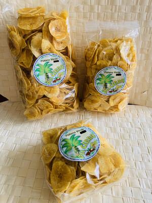 Del Cerro Tajaditas Gourmet de Plátano Verde 454 gramos