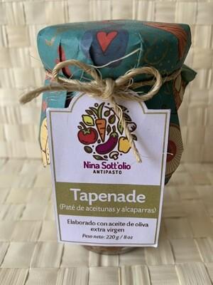 Nina Sott'olio Antipasto Tapenade paté de aceitunas y alcaparras 280 g / 8 oz