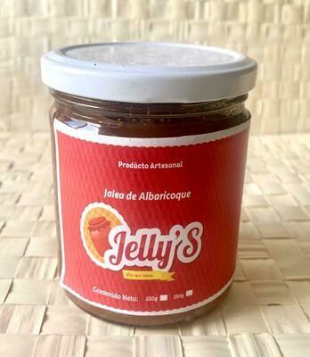 Jelly's Jalea de albaricoque 100% natural 16oz/473ml