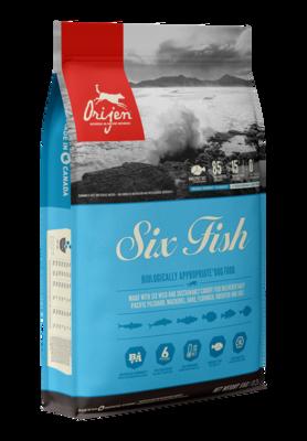 ORIJEN SIX FISH 11.4KG