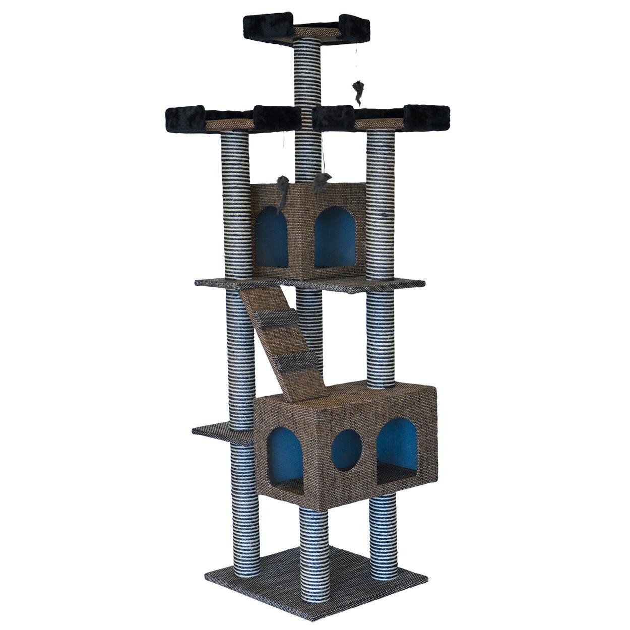"CAT TREE SCRATCHER - TOWER 72"""