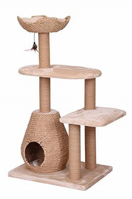 PetPals Group Multi Level Cat Furniture with Teaser