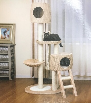 PetPals Group Multilevel Tree with Stairs