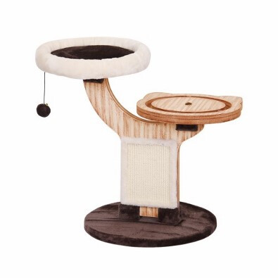 PetPals Group © 2-Level Cat Tree Natural Wood