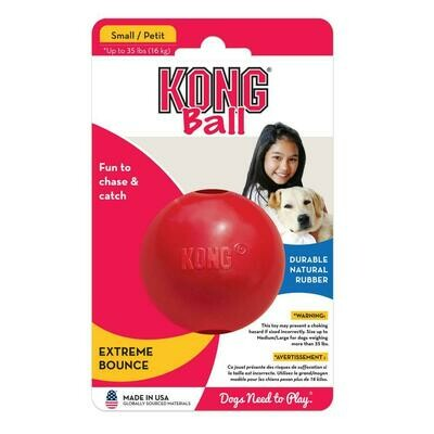 KONG BALL, SMALL, RED
