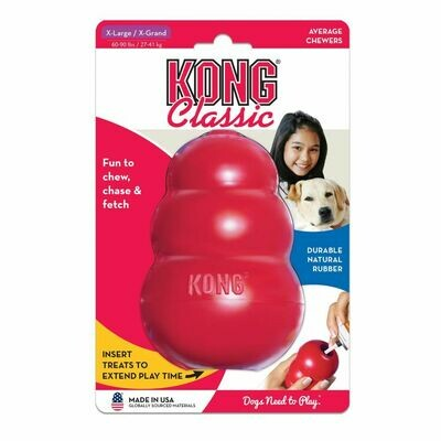KONG CLASSIC, XL, RED