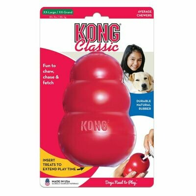 KONG CLASSIC, XXL, RED
