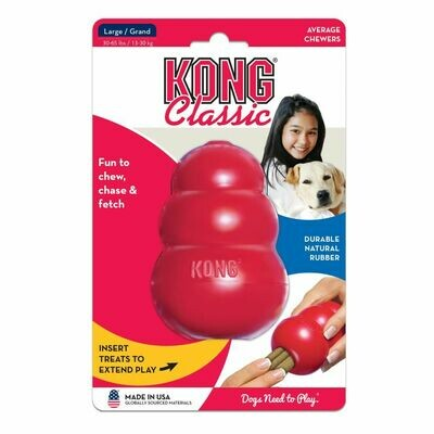 KONG CLASSIC, LARGE, RED