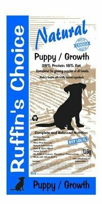 RUFFIN'S CHOICE PUPPY / GROWTH 13.6Kg