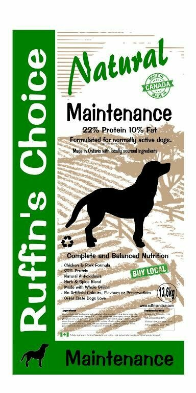 RUFFIN'S CHOICE MAINTENANCE 13.6 kg
