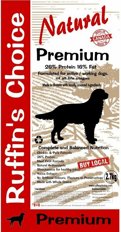 RUFFIN'S CHOICE PREMIUM 2.72KG