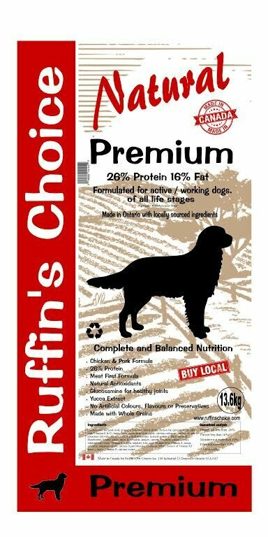 RUFFIN'S CHOICE PREMIUM 13.6KG