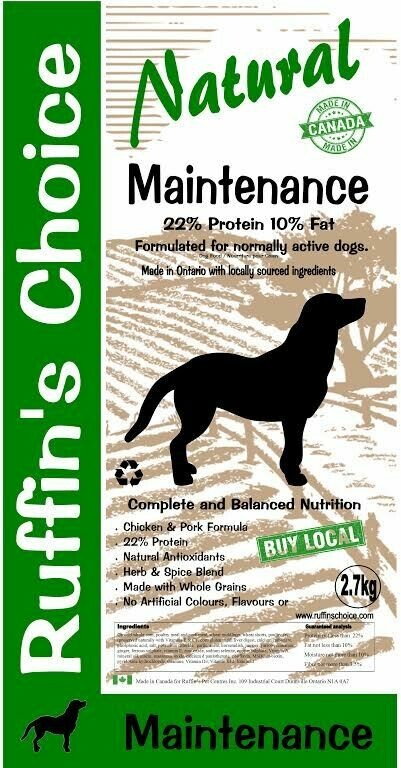 RUFFIN'S CHOICE MAINTENANCE 2.72KG