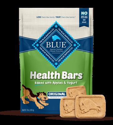 BLUE HEALTH BAR - APPLE & YOGURT 453g