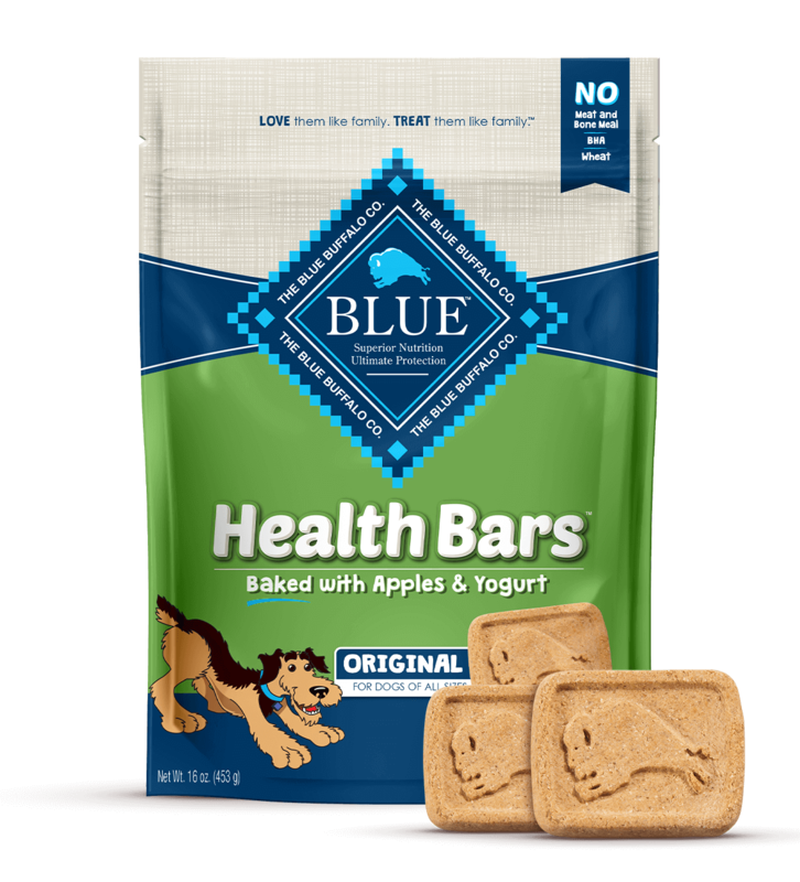BLUE HEALTH BAR - APPLE & YOGURT 453g