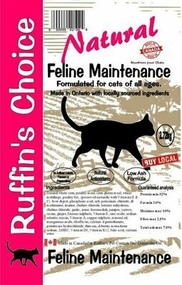 RUFFIN'S CHOICE CAT 2.72Kg