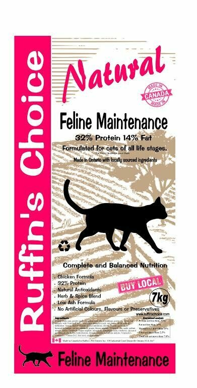 RUFFIN'S CHOICE CAT 7KG