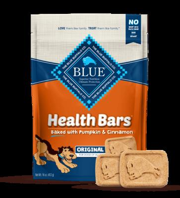 BLUE HEALTH BAR - PUMPKIN & CINNAMON 453g