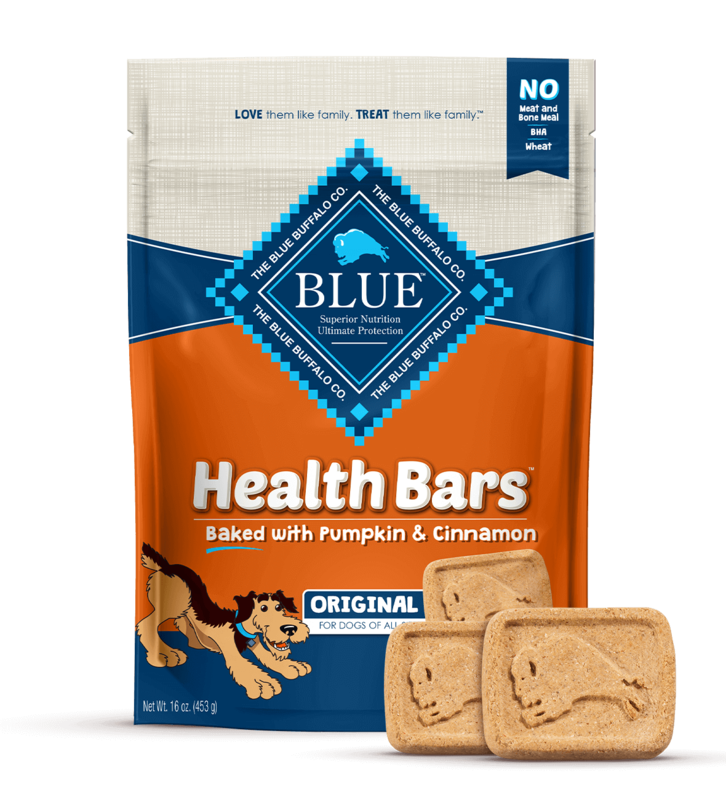 BLUE HEALTH BAR - PUMPKIN & CINNAMON 453g