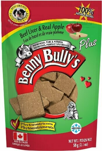 BENNY BULLY'S LIVER PLUS - APPLE 58g