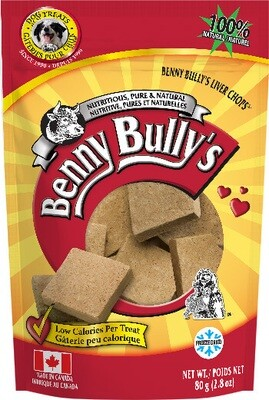 BENNY BULLY'S LIVER CHOPS 80g