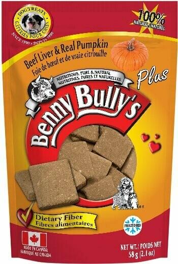 BENNY BULLY'S LIVER PLUS - PUMPKIN 58g