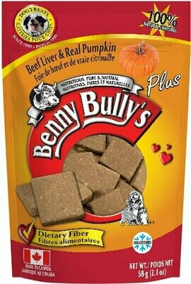 BENNY BULLY'S LIVER PLUS - PUMPKIN 58g