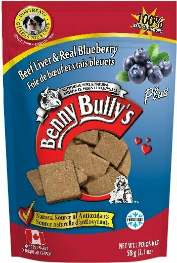 BENNY BULLY'S LIVER PLUS - BLUEBERRY 58g