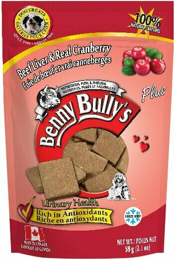 BENNY BULLY'S LIVER PLUS - CRANBERRY 58g