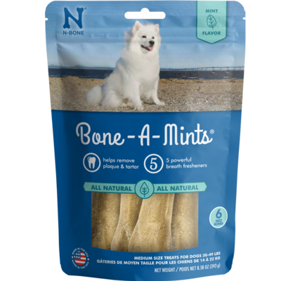 Bone-A-Mints Medium 6pk