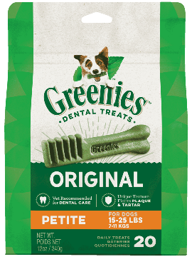 Greenies Treat-Pak Petite 12 oz