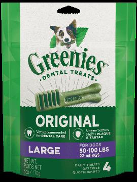Greenies Mini Treat-Pak Large 6oz