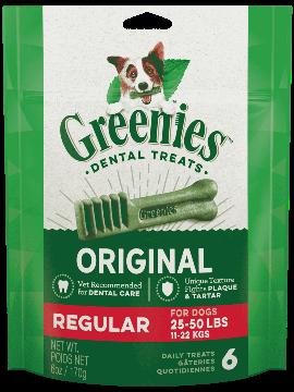 Greenies Mini Treat-Pak Regular 6oz